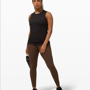 """Lululemon Fast And Free HR Tight 25"""" Br"""